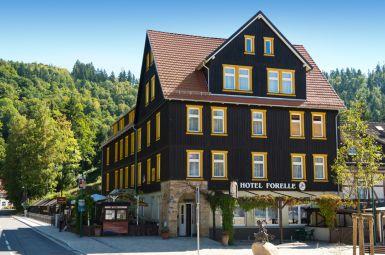 Sagenhafter Harz mit Frühstück