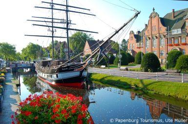 Papenburg, Ozeanriesen & frische Brise