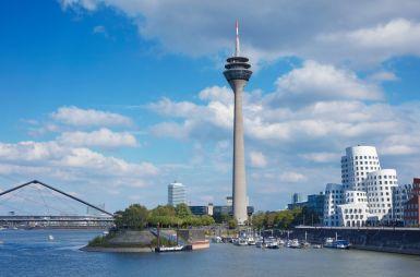 Mittendrin in Düsseldorf