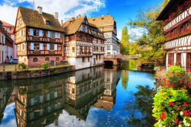 Silvester vor den Toren Straßburgs